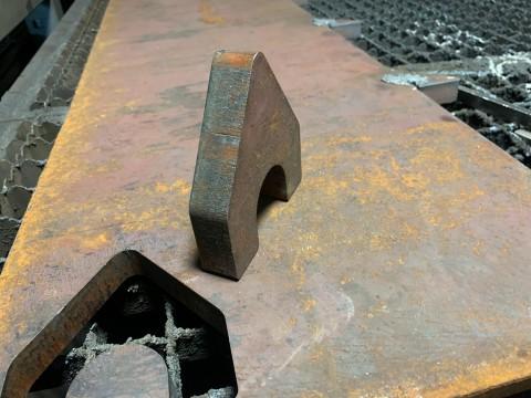 Деталь из чёрной стали