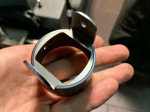 Изготовление конструкционного узла с помощью лазерной резки листового металла и трубы и гибки листового металла