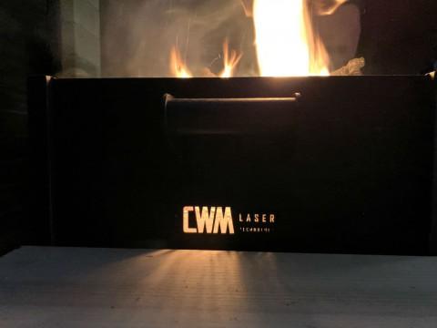 Изготовление мангала из жаропрочной стали с декоративными элементами на заказ в киевской компании LaserCWM