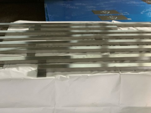 Разработка и изготовление отбойников из нержавеющей стали AISI304 для хлебопекарного комбината