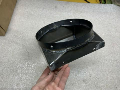 Изготовление переходника из стали марки СТ3 для зерновой машины с применением высокопроизводительного лазерного оборудования