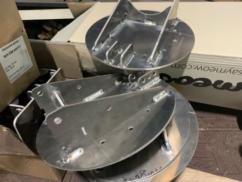 Изготовление специальных кронштейнов из алюминия в специализированной компании LaserCWM