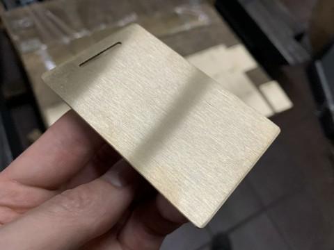 Изготовление медалей из латуни и нанесение лазерной маркировки