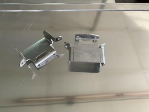 Резка и гибка изделий из алюминия толщиной 2 мм лазером