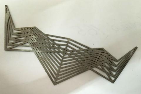 Лазерная резка нержавеющей стали для изготовления ювелирных изделий