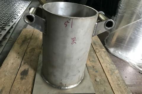 Резка и сварка нержавеющей стали лазером для изготовления деталей деактиватора для атомной промышленности