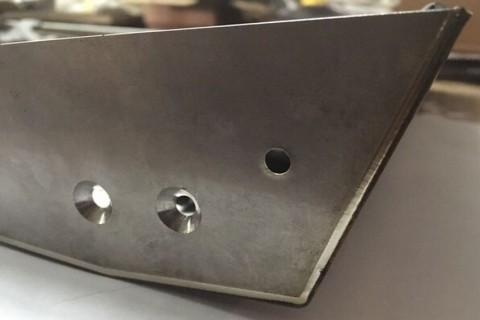 Резка и сварка лазером емкости из нержавеющей стали