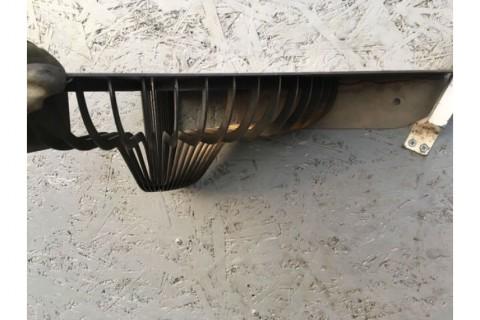 Лазерная резка и сварка настенной декоративной полки из стали марки СТ3
