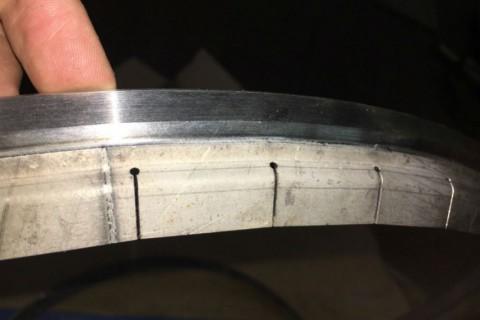 Применение лазерной технологии резки и сварки для изготовления опорного кольца вертолетного двигателя
