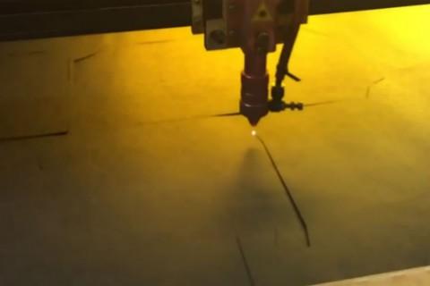 Лазерная резка картона