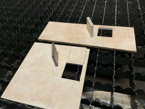 Лазерная резка керамической плитки в компании LaserCWM