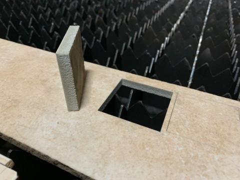 Лазерная резка керамики и керамогранита в компании LaserCWM