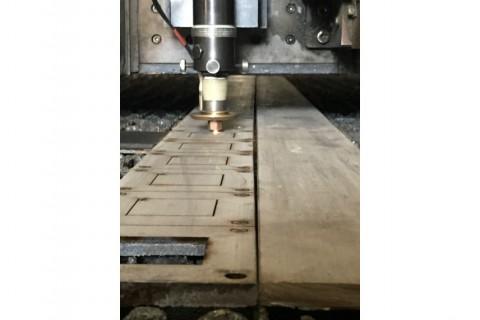 Лазерная резка листового металла из нержавеющей стали 8 мм