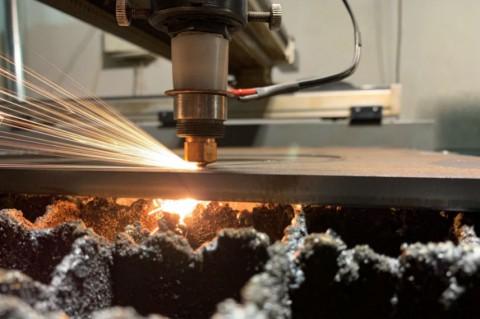Лазерная резка фланцев из нержавеющей стали толщиной 12 мм киев