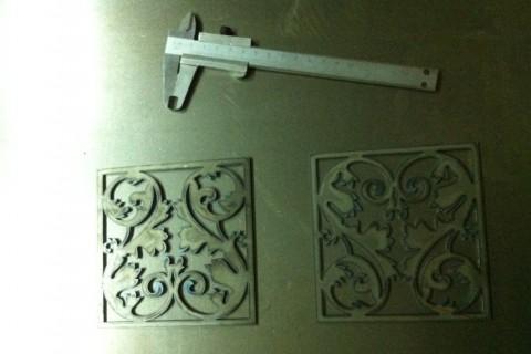 Две декоративные панели