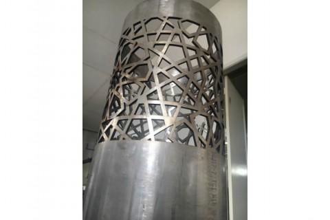 Изготовление корпуса блокировочного столба лазером