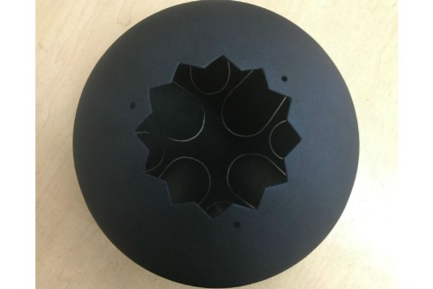Лазерная резка объемных конструкций из черной стали для изготовления музыкального инструмента под заказ