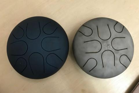 Лазерная резка объемных конструкций из черной стали для изготовления музыкального инструмента на собственном оборудовании с ЧПУ