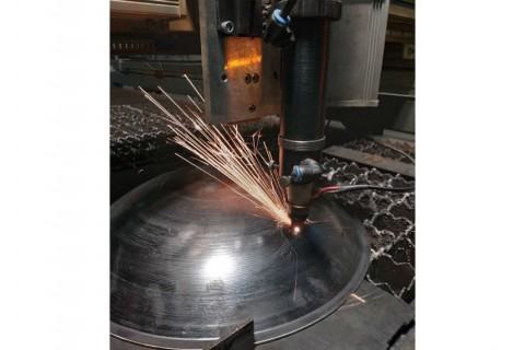 Лазерная резка объемных конструкций из стали марки Ст3 Киев на заказ