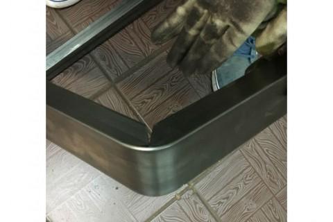 Изготовления деталей мебели с применением лазерной резки профильных труб (сталь), разработка технологии  и приспособлений