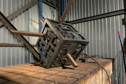 Применение лазерных технологий для производства головоломки из стали марки Ст3 толщиной 3 мм