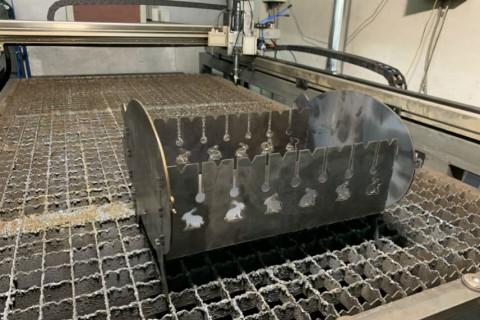 Лазерная резка стали марки СТ3 толщиной 3мм Киев