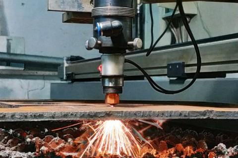 Лазерная резка толстостолистовой стали на заказ Киев - 17-2019