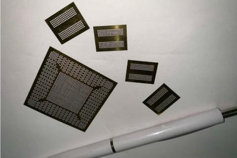 Лазерная резка нержавеющей стали для изготовления трафаретов с целью нанесения паяльной пасты при монтаже микропроцессоров - 2018