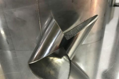 Услуги лазерной резки труб из нержавеющей стали для производства различных декоративных элементов