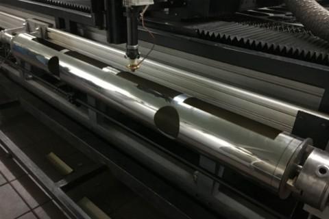 Лазерная резка труб из нержавеющей стали под заказ 13.12.2016