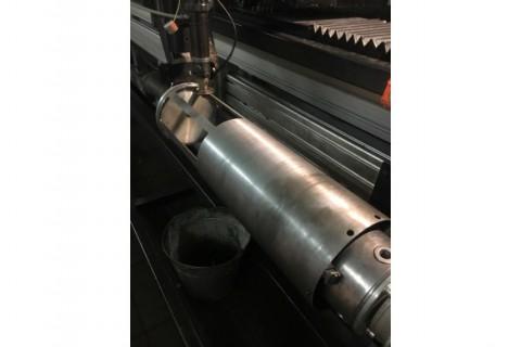Изготовление корпусов уличных светильников с помощью лазерной резки труб из нержавеющей стали