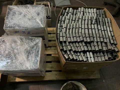 Лазерная резка труб из нержавеющей стали на изделия для сельскохозяйственной промышленности в киевской специализированной компании LaserCWM