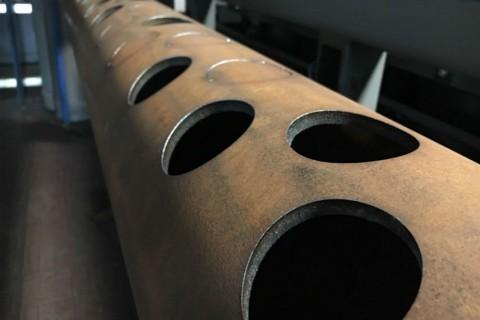 Изготовление элемента теплового котла в компании LaserCWM