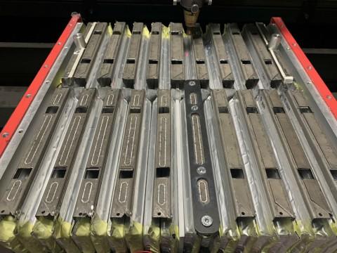 Лазерная сварка алюминия для соединения токопроводов секций суперконденсаторов