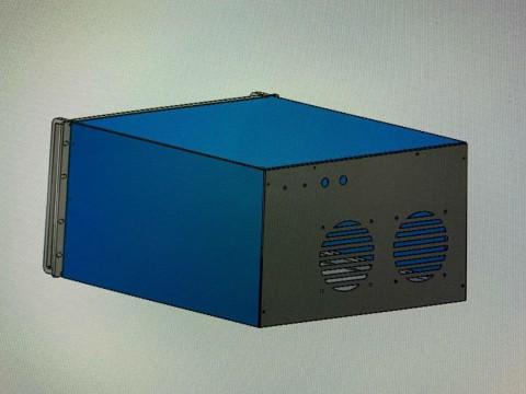 Проект по изготовлению корпусных деталей для электроники в специализированной компании LaserCWM