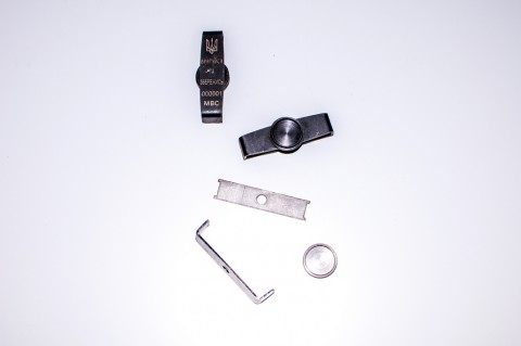 Сварка деталей биометрического жетона для СБУ, МВД, ВСУ